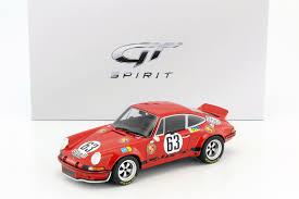1973 rsr porsche 1973 porsche 911 carrera rsr 63 24 h lemans loos barth 1 18 gt