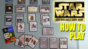 how to play wars ccg customizable card swccg from