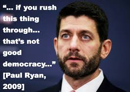 Paul Ryan Meme - paul ryan on health care bill in 2009 imgur