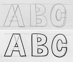 hand lettering styles block lettering tutorial hello brio studio