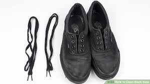 how to clean light suede shoes how to clean black vans with pictures wikihow