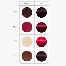 Cherry Red Hair Extensions by Color Mask Cherry Conditioning Colour Mask Rapunzel Of Sweden