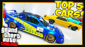 gta 5 online top 5 cars to own customize u0026 have in gtaonline