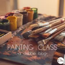 painting class u2014 debbie macomber