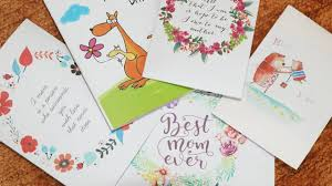 Mother S Day Greeting Card Ideas by How To Make Mother U0027s Day Easy Greeting Card Step By Step