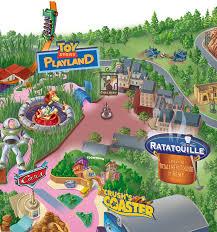 Florida Attractions Map Plan Map Attraction Ratatouille The Adventure L U0027aventure