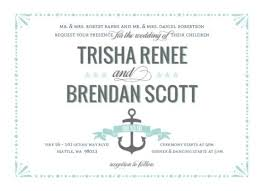 nautical wedding sayings wedding invitations invitation wording exles etiquette