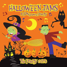 the party cats kid u0027s dance party halloween amazon com music