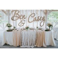 wedding backdrop sign floral wall backdrop large names words signs hanging