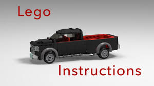 Dodge Ram Truck Models - how to build a dodge ram truck with lego tutorial instruction