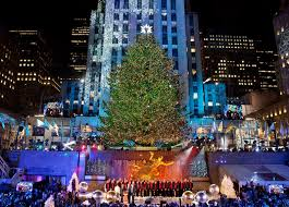 big christmas tree in new york part 17 sliding around the