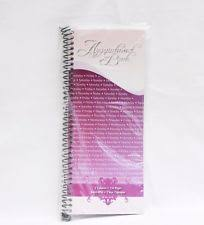 agenda hair salon beauty 4 column appointment book pink spot ebay