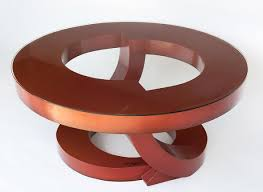 burnt orange coffee table burnt orange coffee table by john wilbar wood coffee table glass