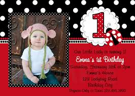 Invitation Card For 1st Birthday Ladybug 1st Birthday Invitations U2013 Gangcraft Net