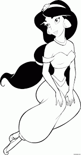disney princess coloring pages jasmine coloring home