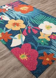 Jaipur Outdoor Rugs Blue Green And Flowers Outdoor Rug Flowers Outdoor Rugs