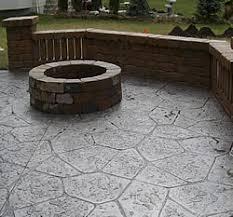 Colored Concrete Patio Pictures Residential Concrete Denver Commercial Concrete Carefree Decks