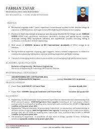 Sample Resume Of Experienced Mechanical Engineer Download Hvac Mechanical Engineer Sample Resume