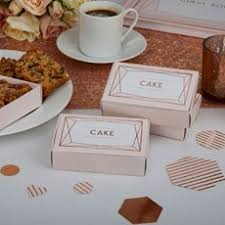 wedding cake boxes for guests cake and cupcake display accessories confetti co uk