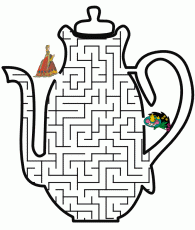 coloring pages teapot coloring coloring home