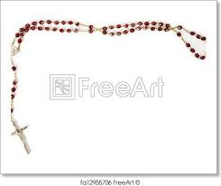 free rosaries free print of rosary isolated on white rosary bead