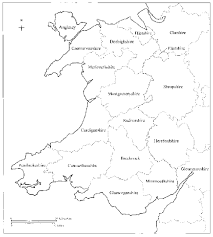 Map Of Wales Coflein Mapping
