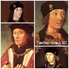 timeline henry vii tudors dynasty