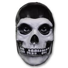 black halloween mask official misfits