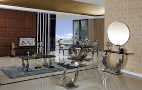 Design Spiegel Wohnzimmer Obsidian Spiegel Konsole Schwarz Konsole Konsolentisch