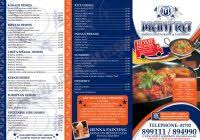 indian menu template indian restaurant menu design template best and various