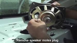 remove rear speakers altima 2013 2014 youtube