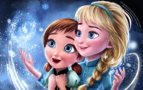 frozen wallpaper elsa and anna sisters forever frozen elsa anna digital fan art wallpapers