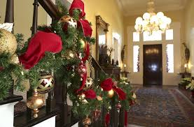 Christmas Decorations Banister Governor U0027s Mansion Tours Offer History Holiday Decorations And