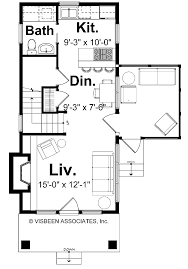 Visbeen House Plans by 2 Bedroom Cottage House Plans