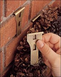 Metal Outdoor Decorations For Christmas brick clips hang on brick without drilling great for outdoor