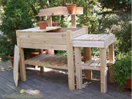 garden potting table outdoor potting bench buy patio planters