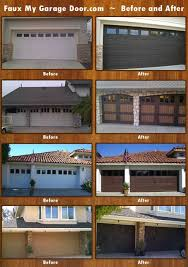 faux wood carriage garage door tutorial carriage doors garage