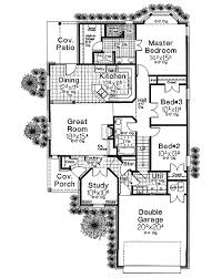 french country house floor plans narrow lot french country house plan 48309fm architectural