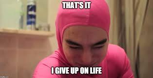 Meme Pink - pink guy imgflip