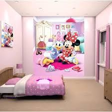 chambre enfant minnie fresque chambre fille papier peint enfant minnie fresque murale