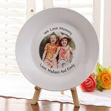 personalized photo plate keepsake personalized photo plate for