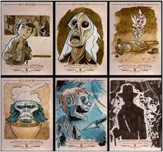 super punch indiana jones sketch cards army of darkness the