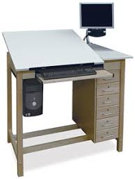 Split Level Drafting Table Hann Drafting Tables Blick Materials