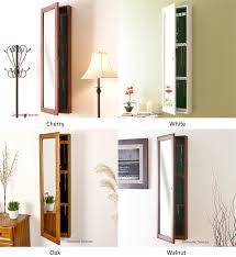 floor length mirror cabinet full length mirror jewelry cabinet amazing mirrors amusing storage