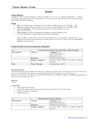Sample Resume For Environmental Engineer by Mba Sample Resume For Freshers Finance Resume For Your Job