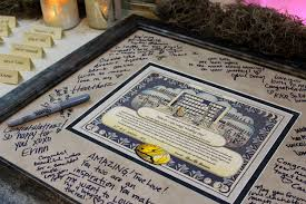 wedding guest keepsakes wedding day dedication signature frame by mydayregistry