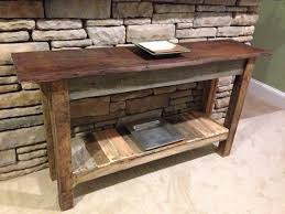 reclaimed barn wood table sofa table design barn wood awesome vintage within reclaimed plans