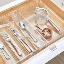 best kitchen cabinet drawer organizer 14 best drawer organizer and dividers 2020 the strategist