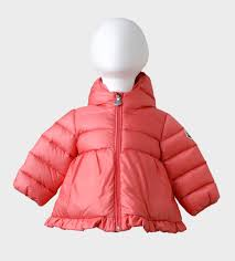 baby girls jacket rose odile by moncler