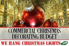 Christmas Decorations For Commercial Premises by Christmas Light Blog Professional Christmas Lights
